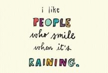 Me on rainy days..