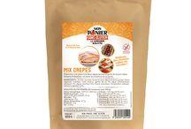 Mix Crêpes / Avec ce Mix, réalisez des crêpes salées ou sucrées mais aussi des blinis, des gaufres ou des clafoutis.