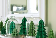 Christmas trees - paper