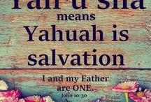 Baruch Hashem YHWH