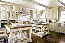 Kitchens / by Mandy Foot - Seams Sew Together