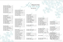 Tiffany Blue Wedding Seating Charts / Tiffany Blue Wedding Seating Boards are also available in 23 other colors. All our wedding seating boards are available with mounting or framing. Fast turnaround - most charts arrive in 3-5 business days. / by Seating Chart Boutique