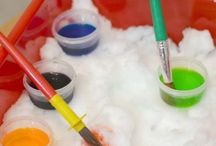 snow and color dipping