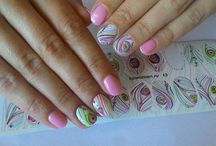 Nail Decals / Water decals, nail decals, nail wraps, nail sticker, water slide decals, sliders, bpwomen Слайдер-дизайн для ногтей