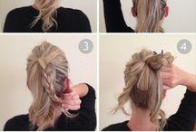 Simple & cute hair.