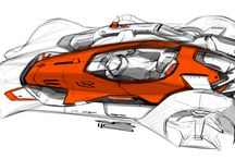 Car Sketches and Renderings