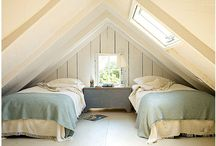 Attic / I have a great guest room space in the attic just not a lot of ideas on how to make it pop!
