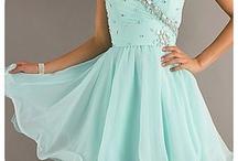 dress and high heels <3