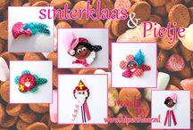 sinterklaas specials / Sinterklaas is de leukste kinder traditie in nederland. Daar horen natuurlijk super leuke sint en piet haarspeldjes bij.