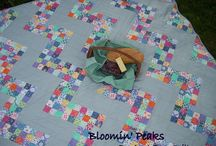"2 1/2""  squares and scraps / by quilary"