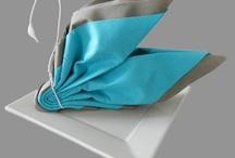 serviette cygne