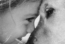 Friends / Enfants et animaux : complices