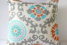 My lounge / Orange/ turquoise decor
