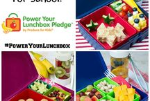 Lunchtime / Ideas for lunchtime at school and making lunch boxes fun!!