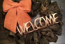 Wreath ideas / by Morgan Williams