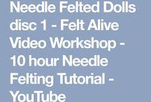 needle felting tutorial