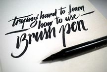 calligraphy/typography/graphic design