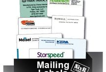 Business Labels / Business world labels to organize, operate and call-out your brand with SixB Labels
