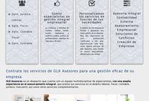 GLK Asesores / En nuestro ultimo trabajo de #DiseñoWeb en #Bilbao hemos creado un sitio web para GLK Asesores, una asesoría integral que cuenta con departamentos en las diferentes especialidades del mercado como son, departamento fiscal, jurídico y laboral.