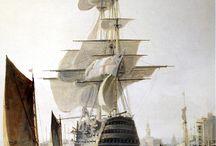 Georgian Sailing Ships / Research for my Georgian fantasy books, Winterwood and Silverwolf