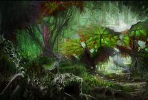 Fantasy jungle