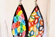 Funky earrings / by Diane Etcheverry