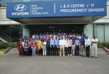 VIT - Business Schools' visits to Hyundai Motor India / Hyundai Motor India hosted the visit for students from VIT Business School, Vellore to their Chennai facility. / by HyundaiIndia