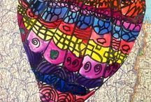2nd grade Georgetown artists / by Heather Persch