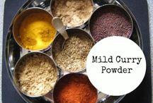 Spice blends and secrets to taste
