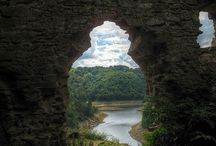 Through a keyhole