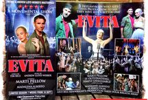 Evita in the West End / After more than a year touring UK Evita lands at West End's Dominion Theatre for 55 performance only, from 16 September to 1 November 2014