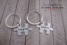 Hand Stamped for Couples