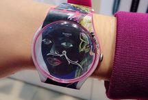 Swatch Olaf H. / German artist Olaf H. takes magical flowers and faces to the wrist in a pair of Swatch art specials. - http://swat.ch/1h0ihlr