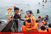 Pulau Putri / Dokumentasi kegiatan outbound di Pulau Putri kepulauan seribu Jakarta,  Marketing 0877-7349-0007, 0812-1925-242