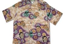 Vintage Hawaiian Aloha Shirt / Hard to find, rare and vintage Hawaiian shirts. Many prints have sold out and others remain available. Hundreds of  Hawaiian print images can be found within the MauiShirts museum. It's fun to view these print images.