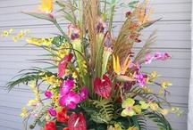 Silk Arrangements, Plants and More from Apple Blossoms / Permanent Botanical Arrangements and Silk Arrangements