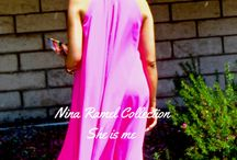 Pink Halter Dress! / Free Flowing Pink Halter Dress great for California Summers!