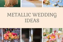   metallic wedding ideas   / Ideas and inspiration for metallic wedding colours, bronze, gold, copper, gold, silver. If this sounds like your colour scheme browse our collection of metallic wedding decorations for sale here http://www.theweddingofmydreams.co.uk/collections/luxe-metallic-wedding-decorations
