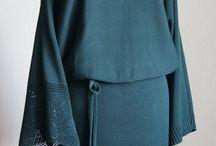 """Платье """"Бархатная зелень""""  © https://www.livemaster.ru/item/17771261-odezhda-plate-barhatnaya-zelen"""
