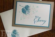 Inspiration - Sympathy Cards