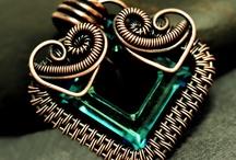 weaving wire / weaving wire jewelry