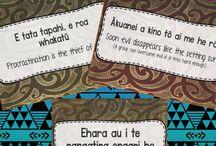 Te Reo Maori - Whakataukii