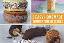 Summer Desserts / by Zebbie Borland .