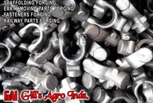 Forging Companies in India / Agriculture Parts Forgings, Forged Harvester Fingers, Automotive Components Forging Parts, Forging Fasteners Items bolts nuts, Eye Bolts, Forged Flanges, Earth Mover Parts, Forged JCB components, Auto Parts Forging, Forged Tractor Parts, Scaffoldings & Couplers Forgings, Railway Fasteners Forgings etc. Mobile: +91-8937800001, +91-8937800002 Email: gillagroindustries@hotmail.com Website: http://www.gillsagroindustries.com
