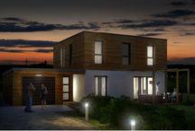WOODIANCE / La construction bois digne de confiance  maison en bois ossature bois   wood house