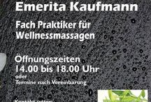 Wellnessmassage in Amorbach /  My Links in Social Medias:  Mehr über Mich,Ich bin auch hier in   LinkedIn   https://de.linkedin.com/in/emerita-kaufmann-a8794471   Pinterest   www.pinterest.com/wellnessemy   Twitter   www.twitter.com/@EmingaO   Google   google.com/+EmyOcay   wellnessmassage-6768@pages.plusgoogle.com   Wellnessmassage/Empfehlungsmarketing Homepage   http://welness-emy.jimdo.com/