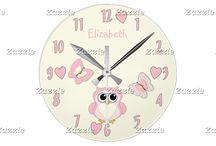 Zazzle ~ Clocks
