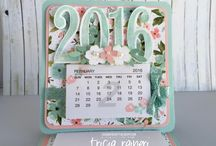calendar scrapbook