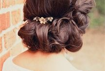 Bridal Hair / Bridal hair inspiration for my clients.