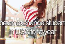 Exchange year USA
